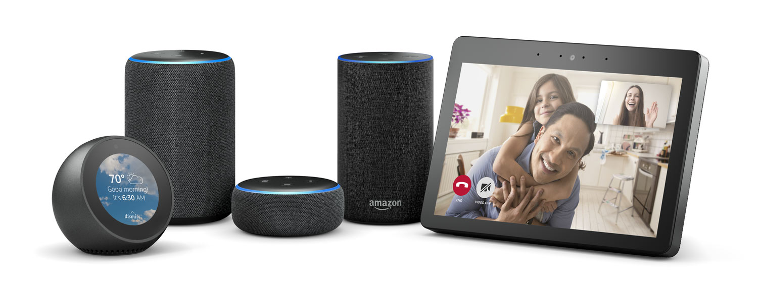 Alexa devices supporting Skype