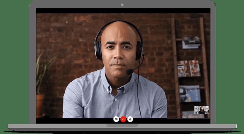 Skype पर साक्षात्कार