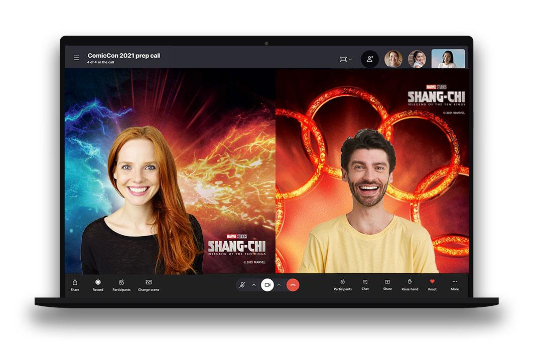 Superrekacja LeBronna w Skypie