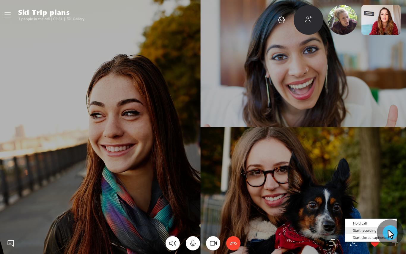 Представляємо функцію записування викликів у Skype