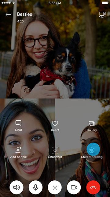 مقدمة حول تسجيل المكالمات في Skype على تطبيق الأجهزة المحمولة