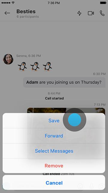 صورة توضح كيفية حفظ تسجيل المكالمات على جهازك المحمول