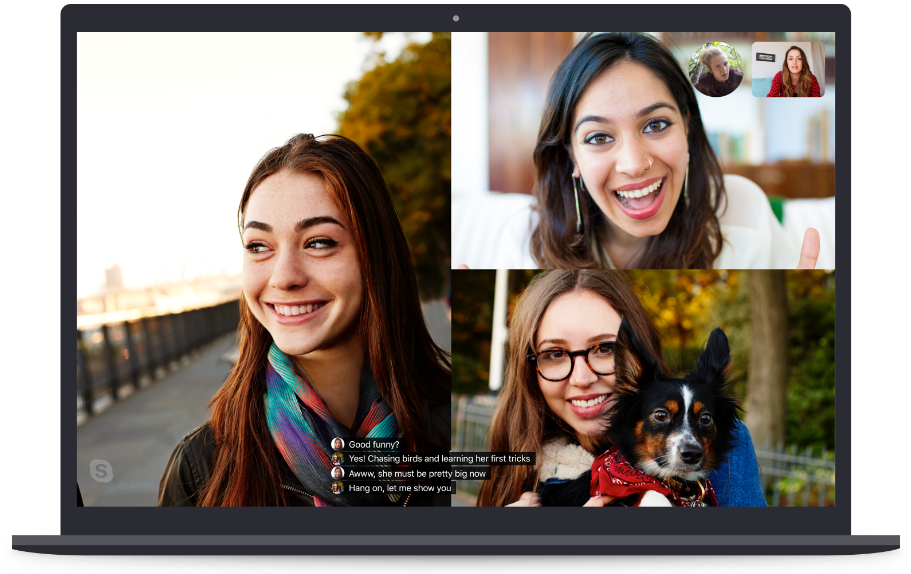 Live captions in Skype