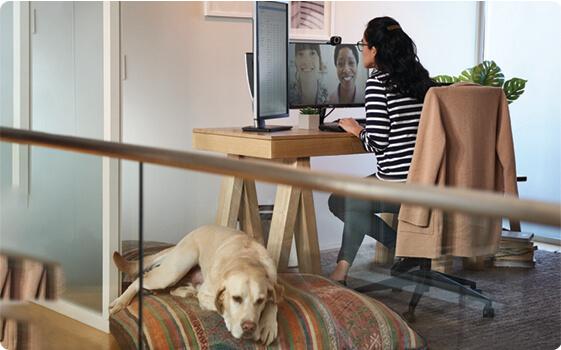 اجتماعات بسيطة وخالية من المتاعب على Skype!