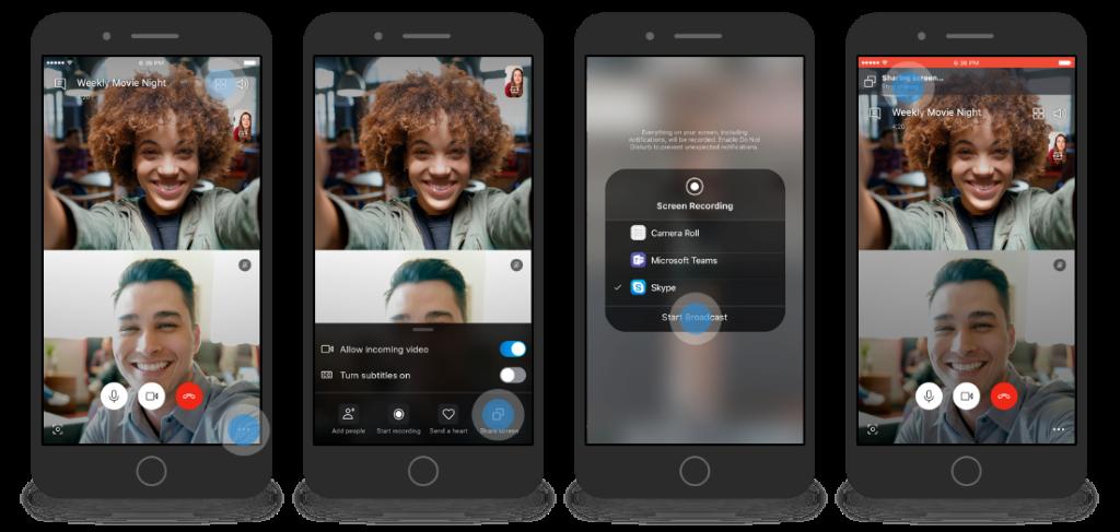 Cum să activați Partajare ecran pe dispozitive mobile