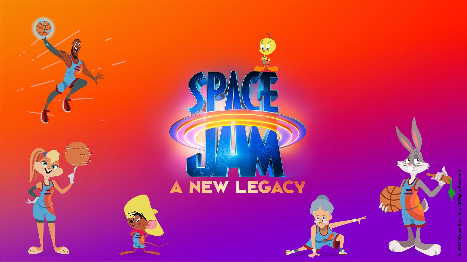 Immagine con le emoticon di SpaceJam