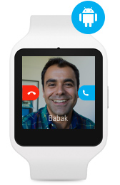 Skype for Android Wear