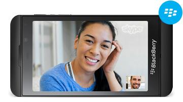 Skype BlackBerryle