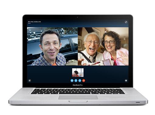 Mac için Skype