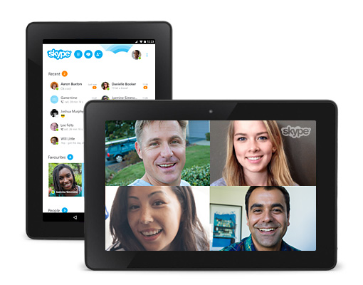 Skype for Kindle Fire HD