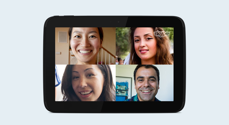 Skype for Android tablets