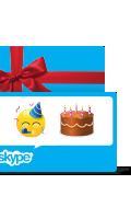 Skype 禮品卡