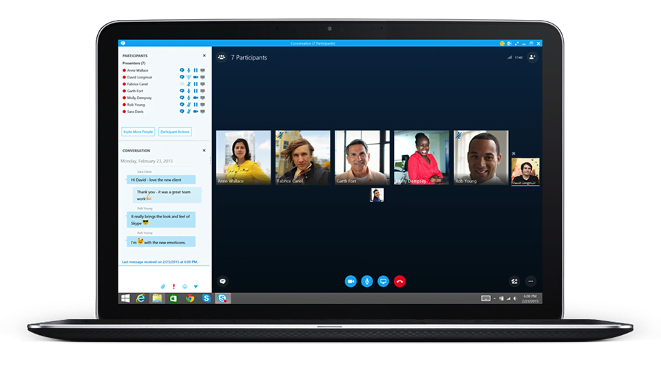 Skype for Business – Collaborate with anyone on any device