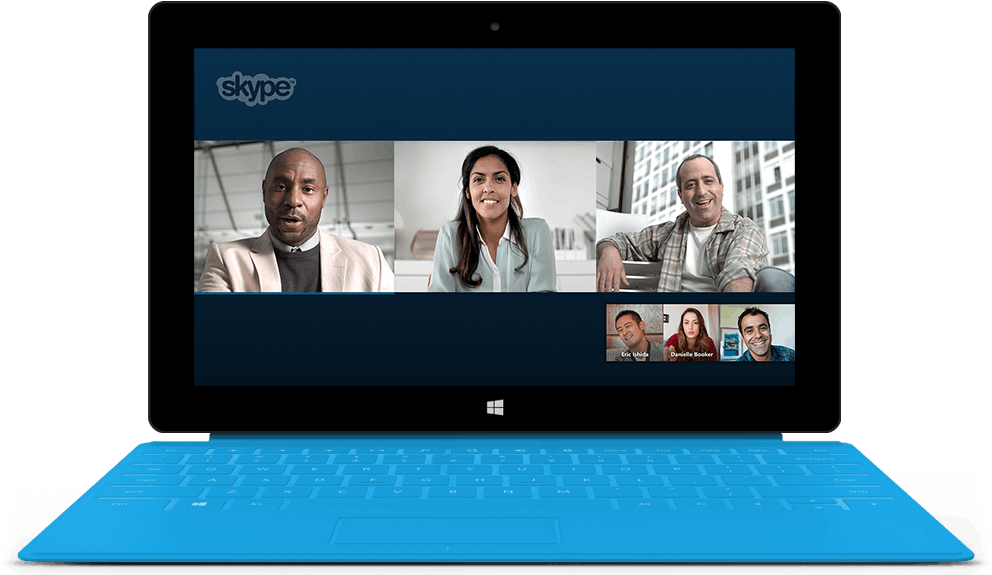 Work better together with Skype