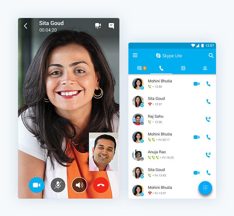 pobierz Skype'a Lite
