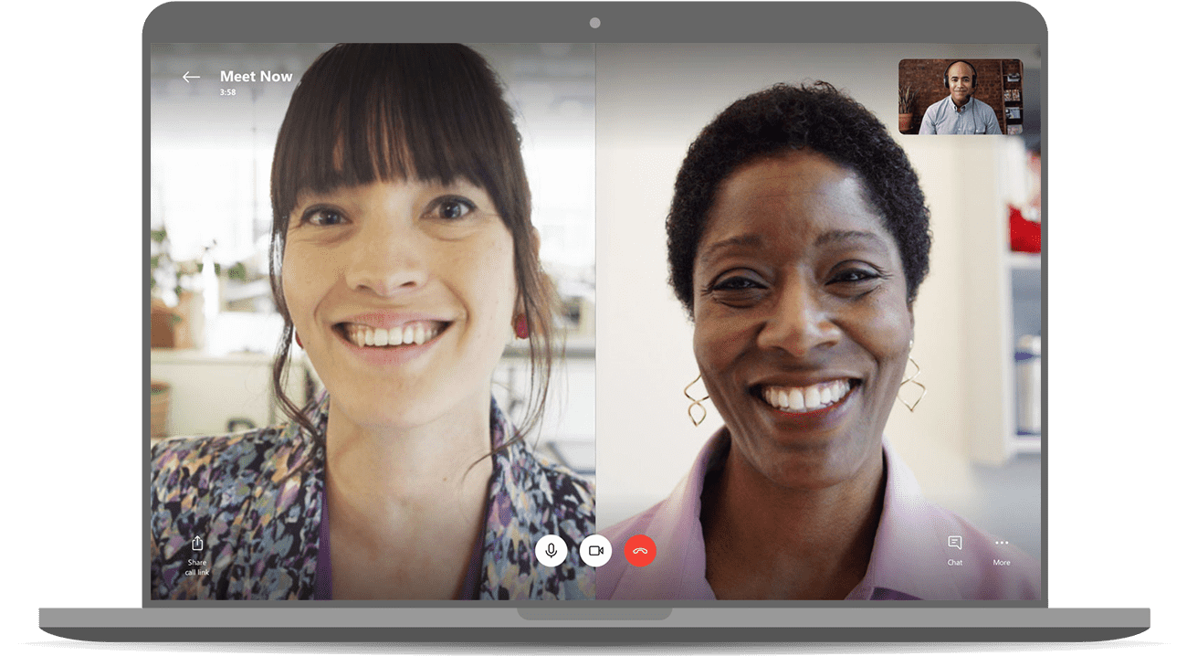 Easy video meetings with no sign ups or downloads