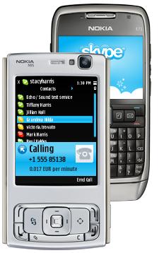 skype pour nokia n95 8gb gratuit