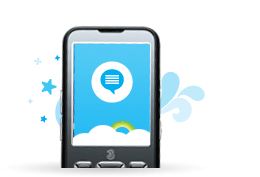 رسائل Skype القصيرة