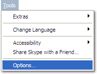 Skype Options